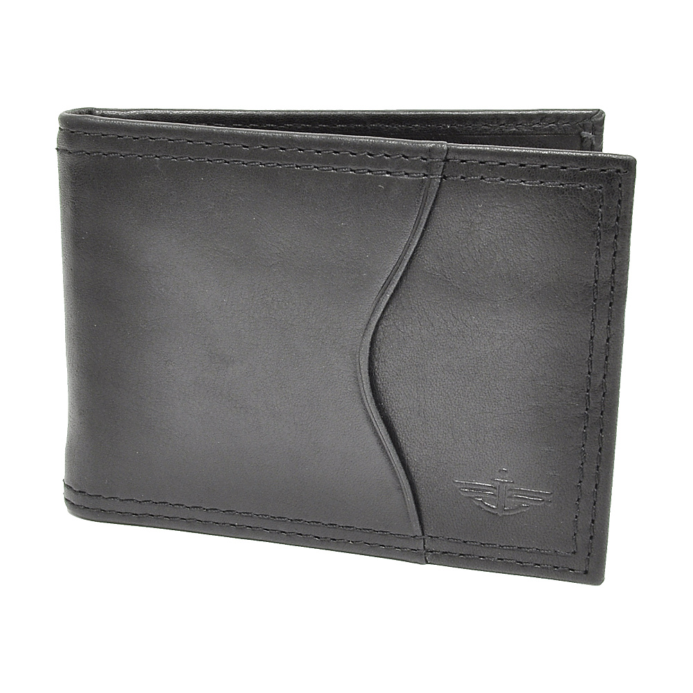 Dockers Wallets Front Pocket Wallet - Black - Work Bags & Briefcases, Men's Wallets