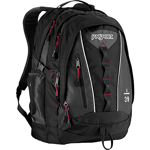 JanSport Odyssey Backpack Black - Backpacks, School & Day Hiking Backpacks