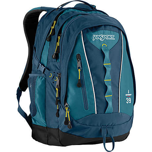 JanSport Odyssey Backpack Bonsai Blue - Backpacks, School & Day Hiking Backpacks
