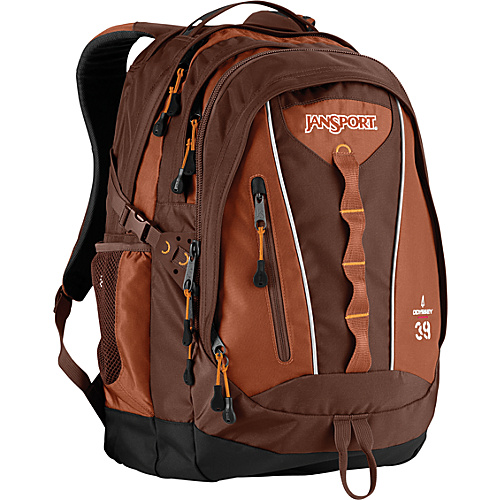 JanSport Odyssey - Red Brown - Backpacks, School & Day Hiking Backpacks