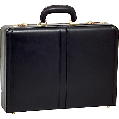 McKlein USA Harper Leather Expandable Attache Case