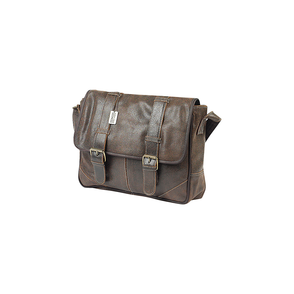ClaireChase Sorrento Laptop Messenger - Distressed - Work Bags & Briefcases, Messenger Bags
