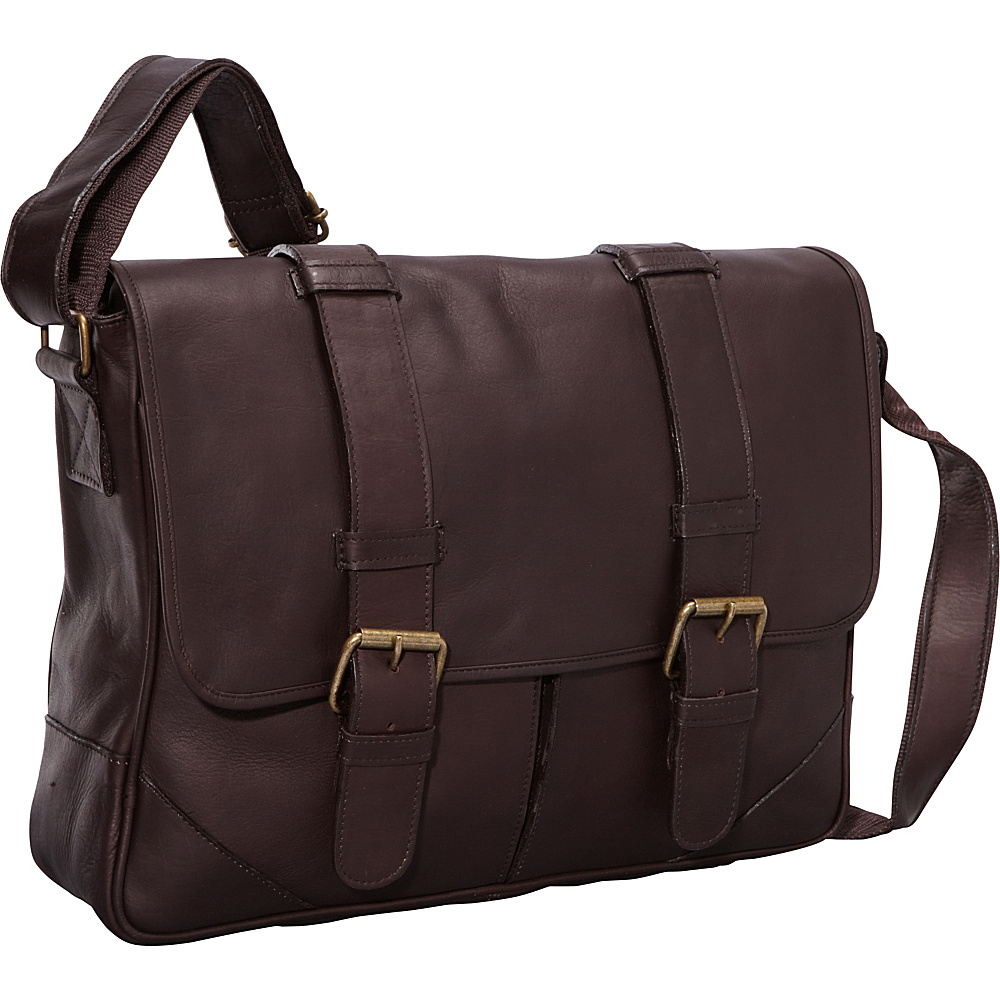 ClaireChase Sorrento Laptop Messenger - Cafe - Work Bags & Briefcases, Messenger Bags