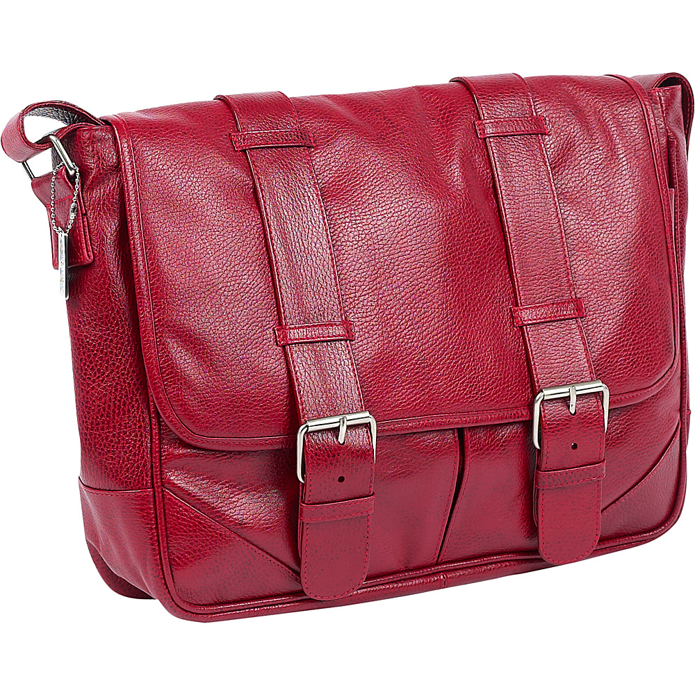 ClaireChase Sorrento Laptop Messenger - Red - Work Bags & Briefcases, Messenger Bags