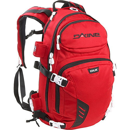 DAKINE Heli Pro DLX 20L Red - DAKINE School & Day Hiking Backpacks
