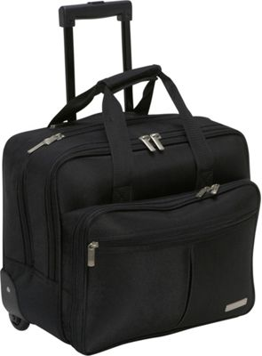 Geoffrey Beene Luggage Rolling Business Case - Black