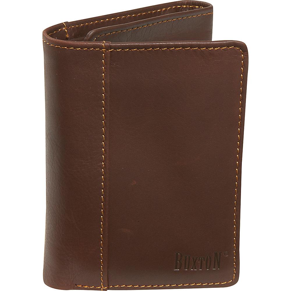 Buxton Sandokan Threefold Mountaineer - Brown - Work Bags & Briefcases, Men's Wallets