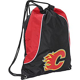 Calgary Flames String Bag Red