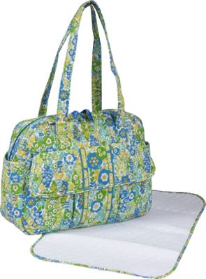 Vera Bradley Baby Bag-English Meadow