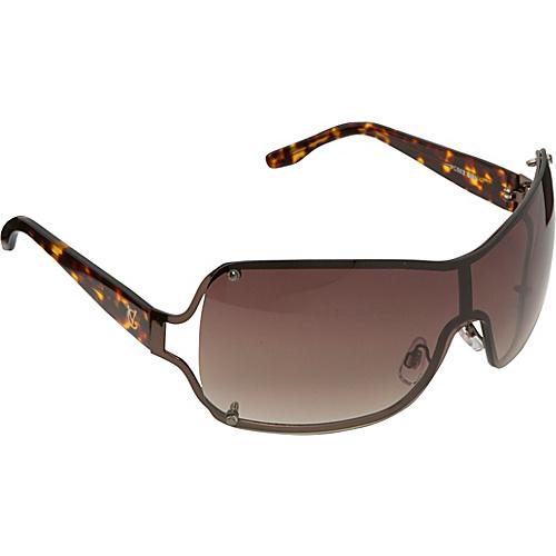Vince Camuto Eyewear Metal Shield Sunglasses - Brown
