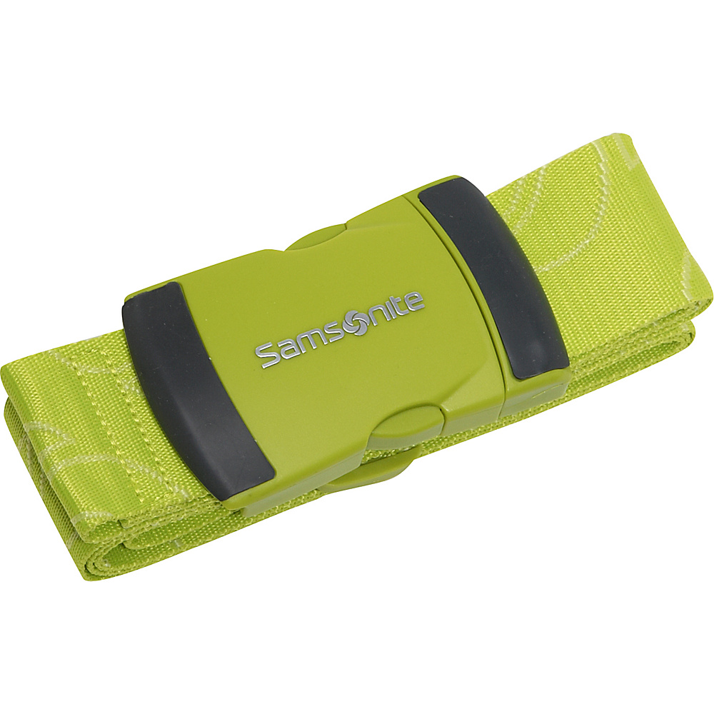 Samsonite Travel Accessories Luggage Strap Neon Green