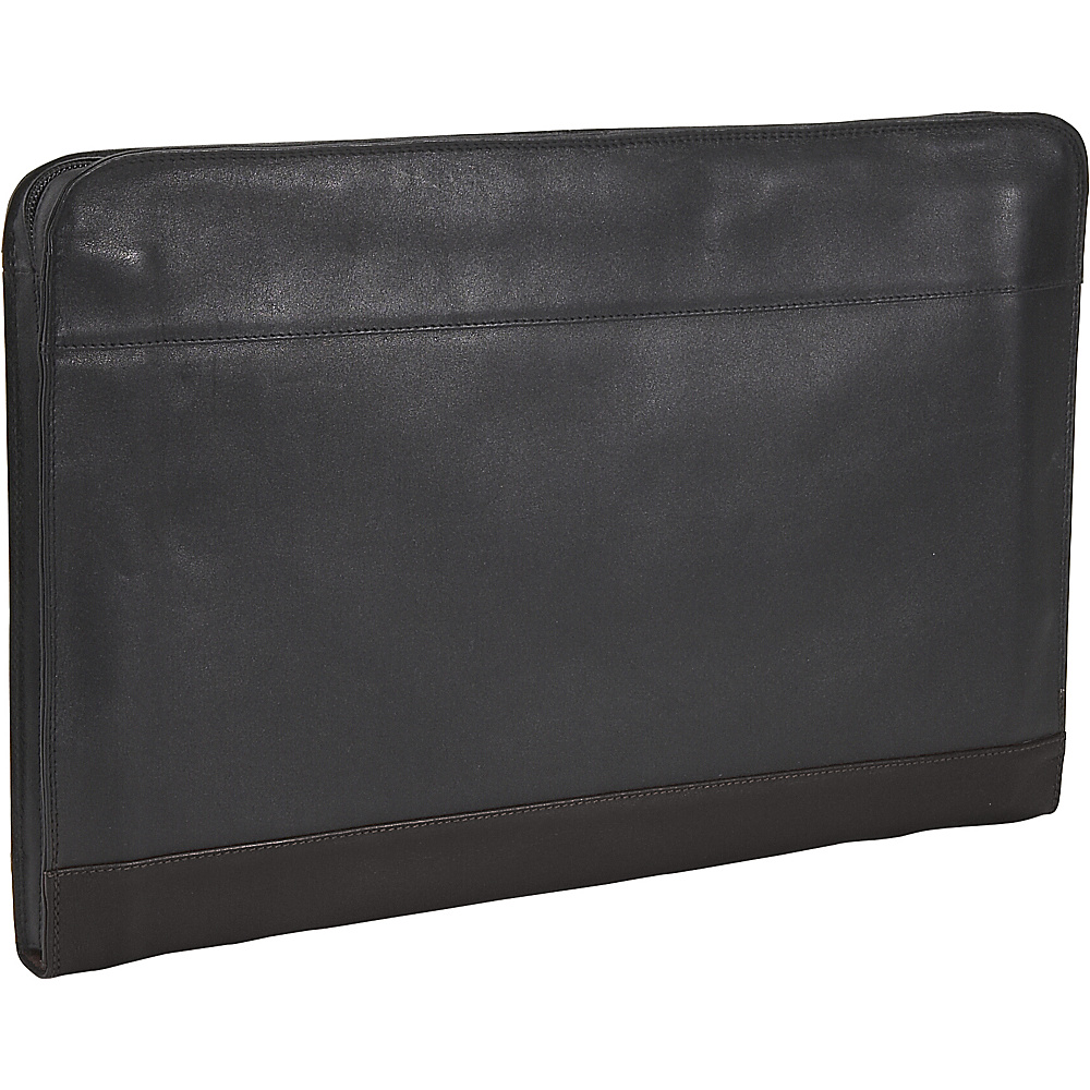 Derek Alexander Underarm Folio - Black - Work Bags & Briefcases, Business Accessories