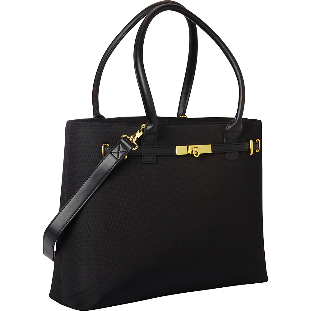 Women In Business Thoroughbred Laptop Tote - Black - Work Bags & Briefcases, Women's Business Bags
