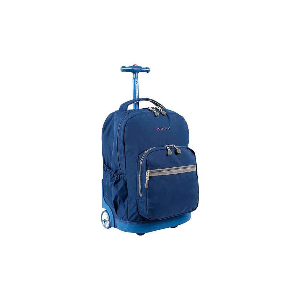 J World New York Sunrise Rolling Backpack - 18 Indigo - J World New York Rolling Backpacks - Backpacks, Rolling Backpacks