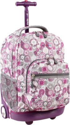 j world sunrise rolling backpack lemon backpacks rolling backpacks