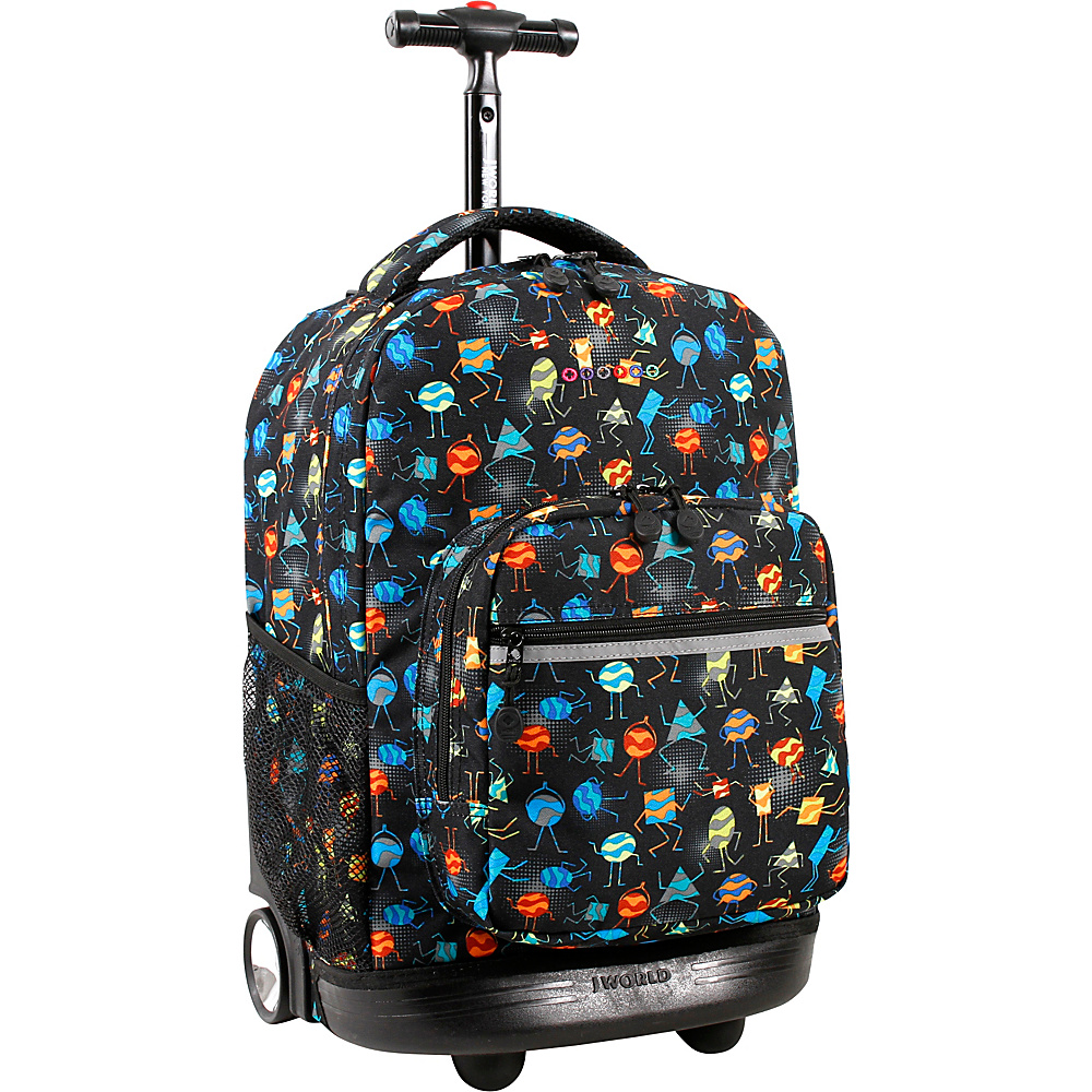 J World New York Sunrise Rolling Backpack - 18 Party Mobs - J World New York Rolling Backpacks - Backpacks, Rolling Backpacks