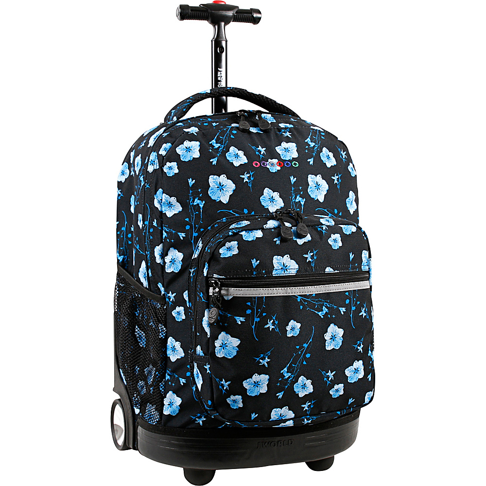 J World New York Sunrise Rolling Backpack - 18 Night Bloom - J World New York Rolling Backpacks - Backpacks, Rolling Backpacks