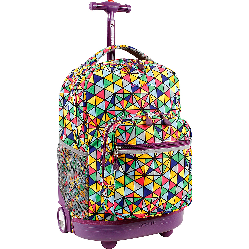 J World New York Sunrise Rolling Backpack - 18 Prizm - J World New York Rolling Backpacks - Backpacks, Rolling Backpacks