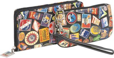 Sydney Love Vintage Hotel-Zip Around Travel Wallet and