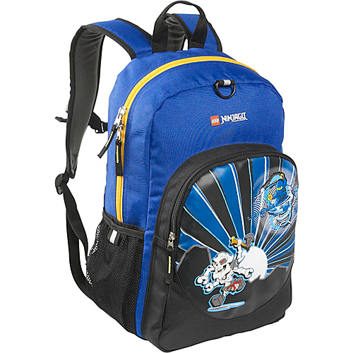 LEGO Ninjago Lightning Classic Backpack Blue - LEGO Kids' Backpacks