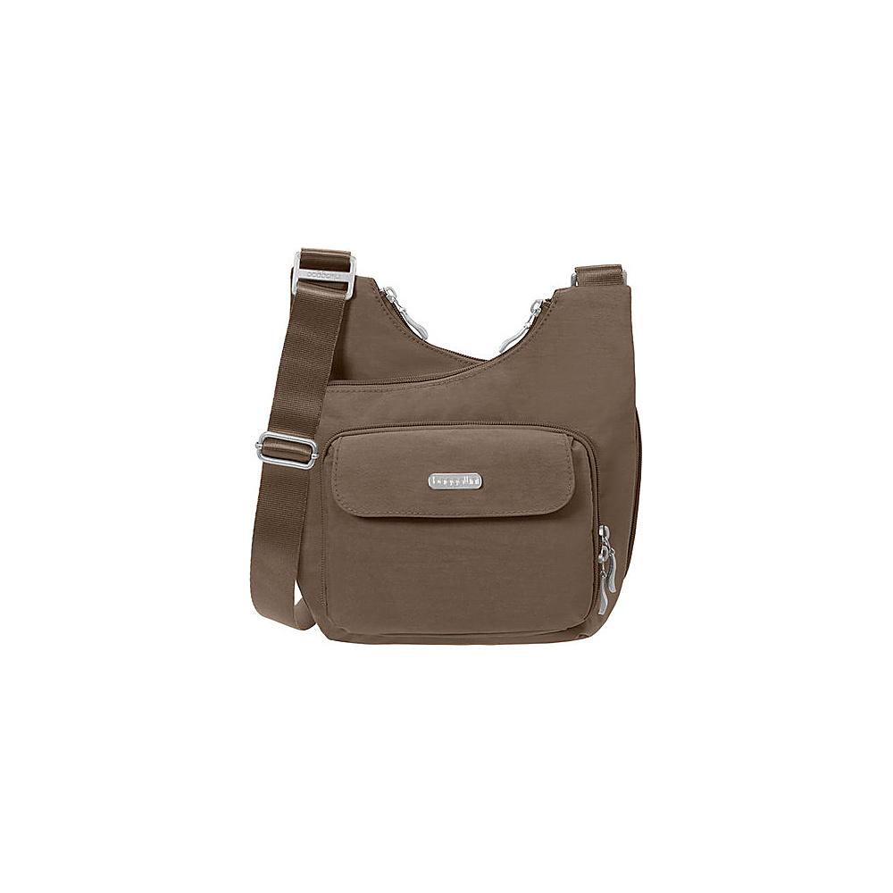 baggallini Criss Crossbody Java - baggallini Fabric Handbags - Handbags, Fabric Handbags