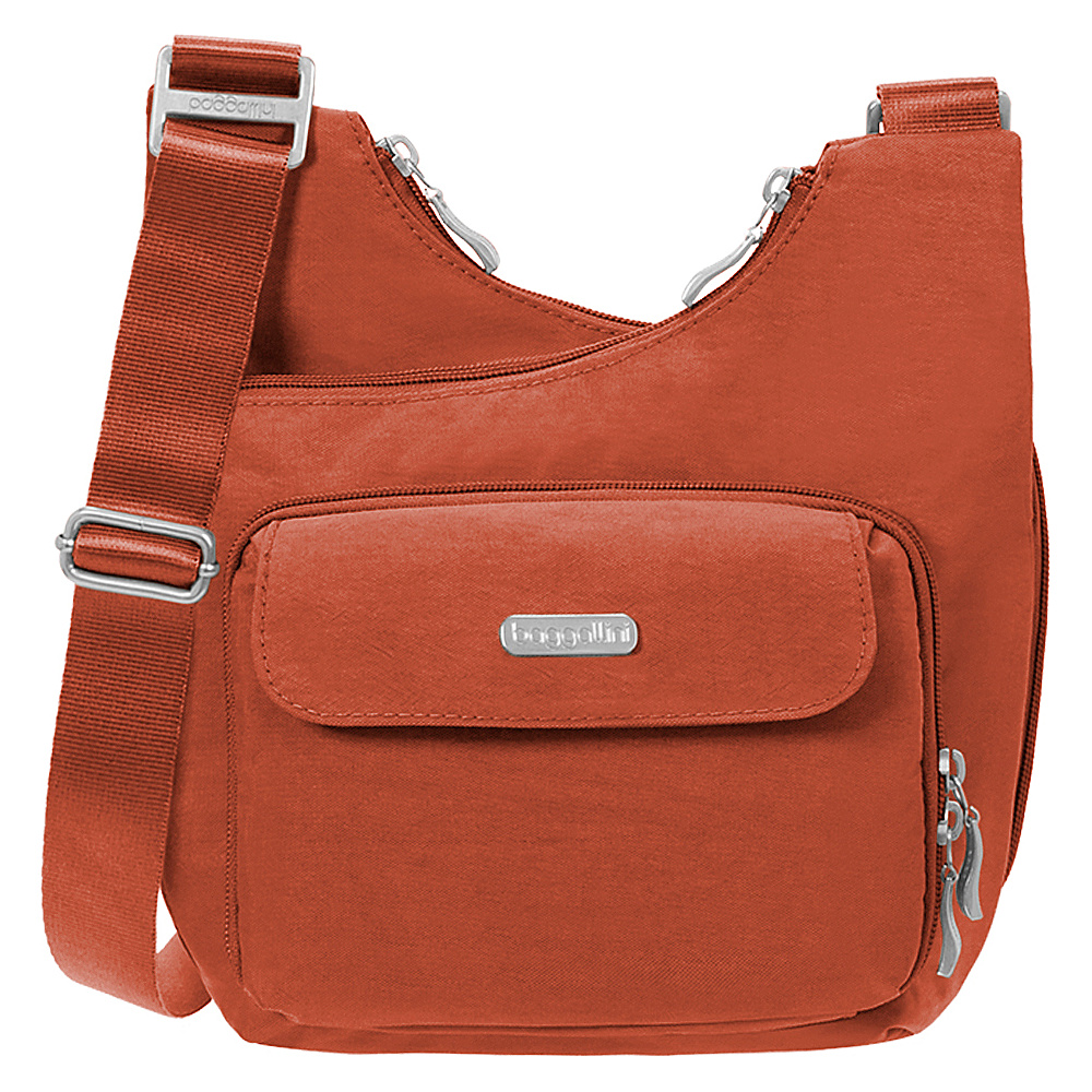 baggallini Criss Crossbody Adobe - baggallini Fabric Handbags - Handbags, Fabric Handbags