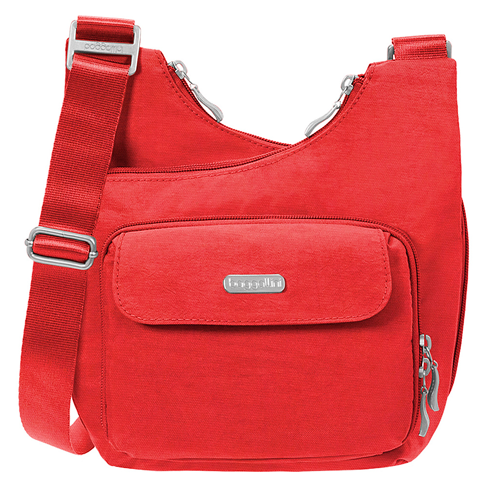 baggallini Criss Crossbody Hibiscus - baggallini Fabric Handbags - Handbags, Fabric Handbags