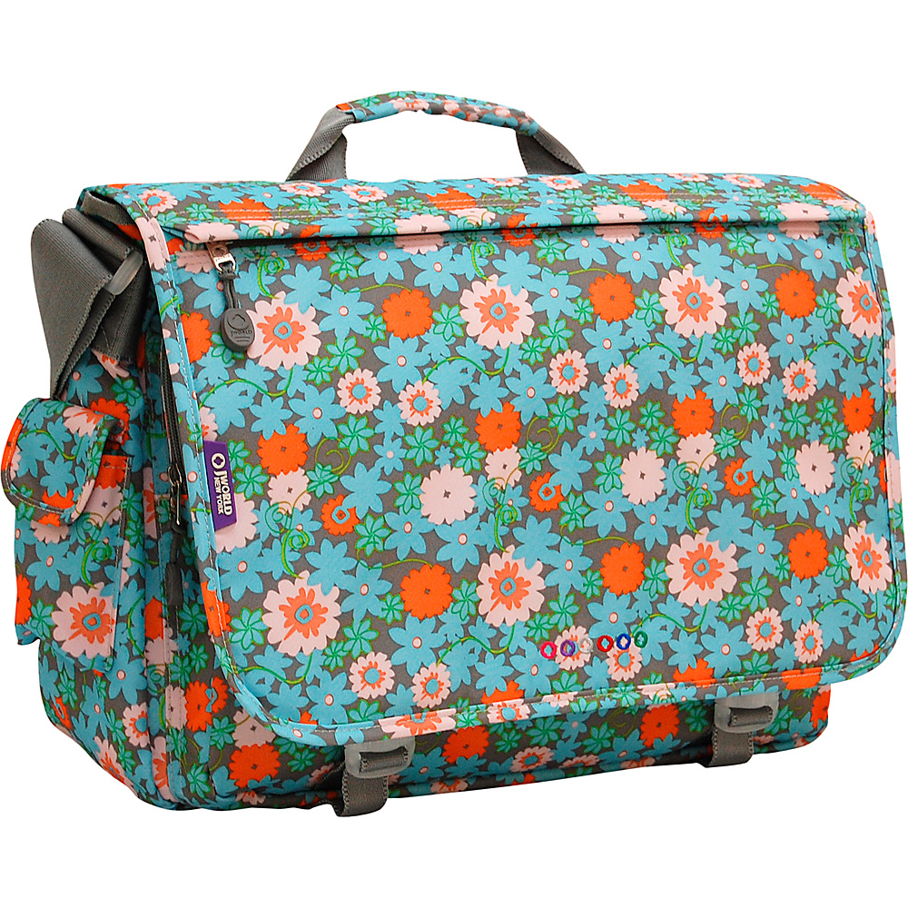 J World New York Thomas Laptop Messenger BLOSSOM - J World New York Messenger Bags - Work Bags & Briefcases, Messenger Bags