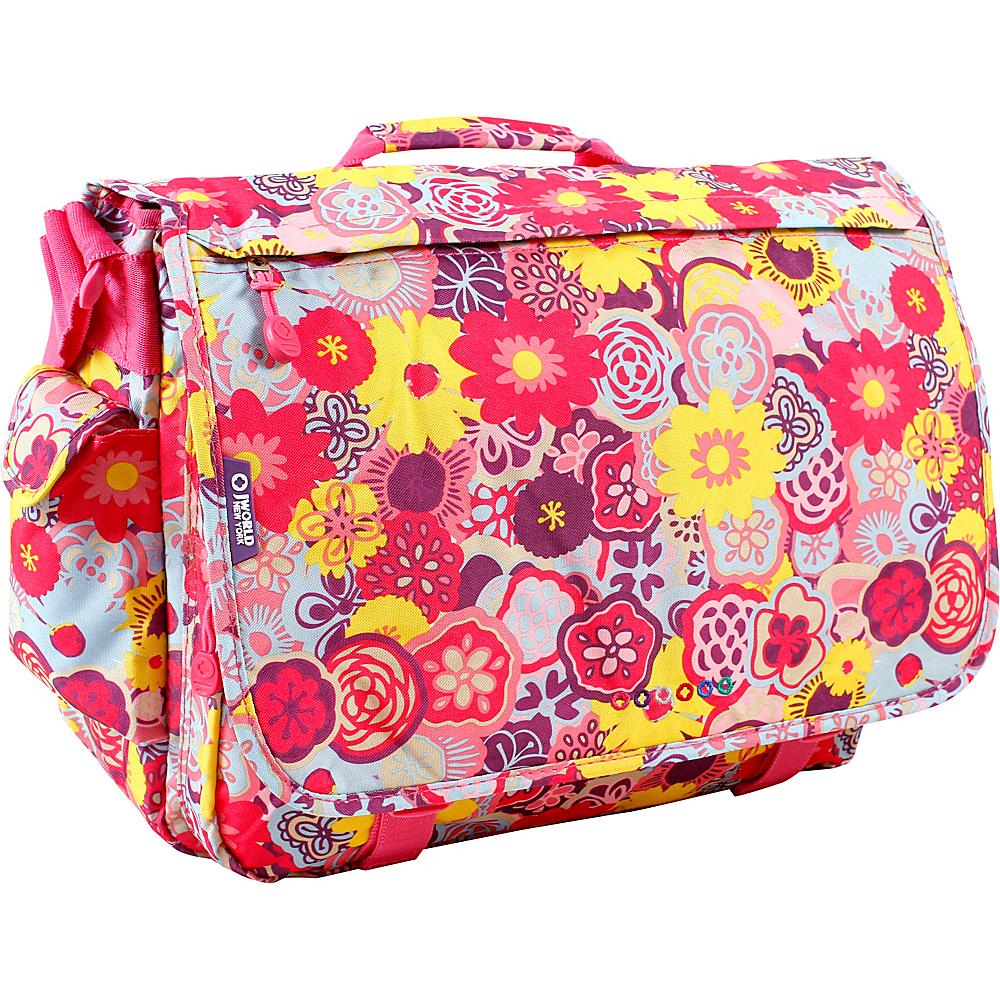 J World New York Thomas Laptop Messenger POPPY PANSY - J World New York Messenger Bags - Work Bags & Briefcases, Messenger Bags
