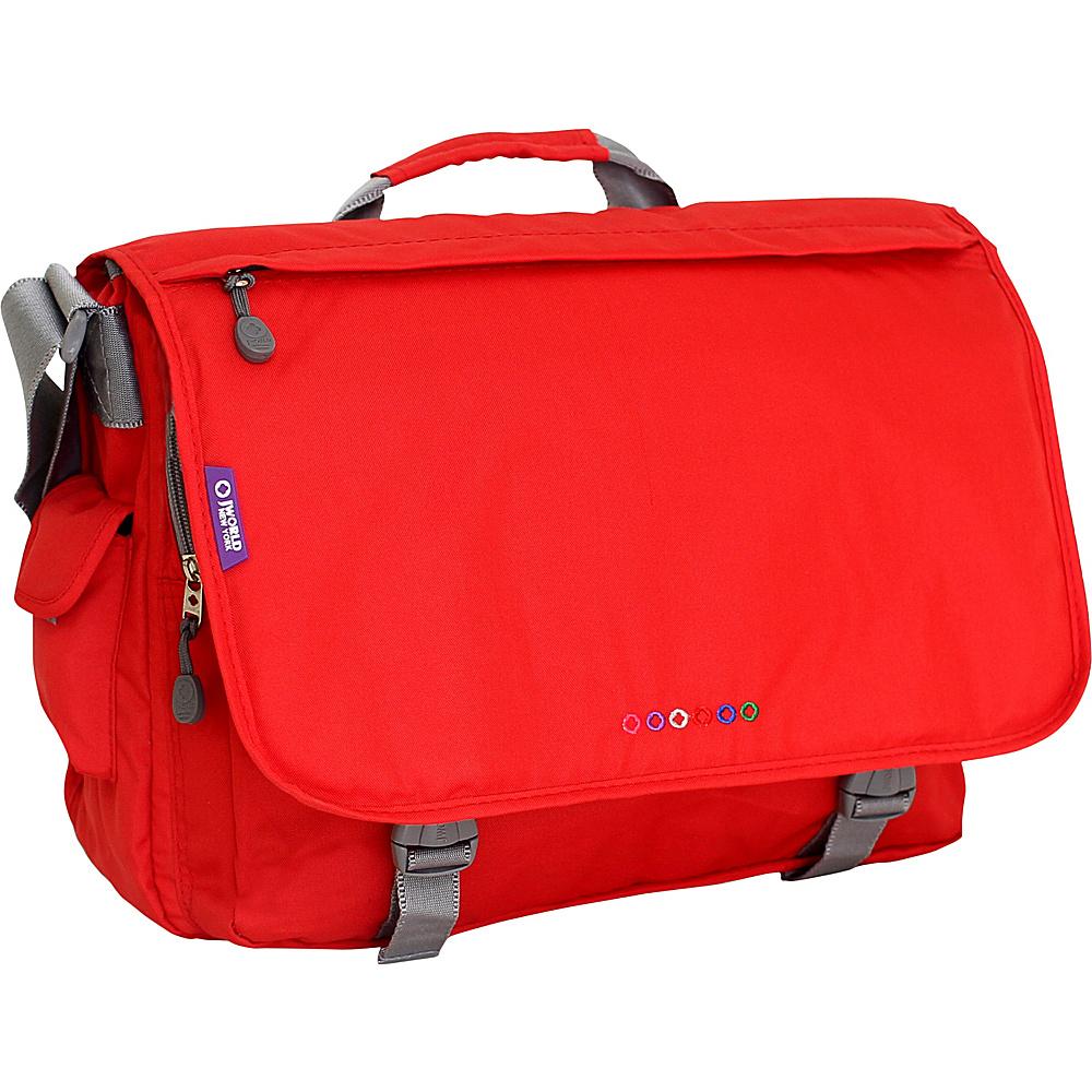 J World New York Thomas Laptop Messenger Red - J World New York Messenger Bags - Work Bags & Briefcases, Messenger Bags