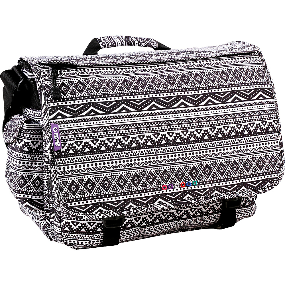 J World New York Thomas Laptop Messenger Tribal - J World New York Messenger Bags - Work Bags & Briefcases, Messenger Bags