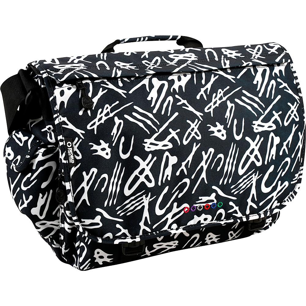 J World New York Thomas Laptop Messenger Script - J World New York Messenger Bags - Work Bags & Briefcases, Messenger Bags