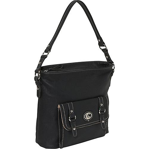 Aurielle-Carryland Waxy Pebble Crossbody Bag