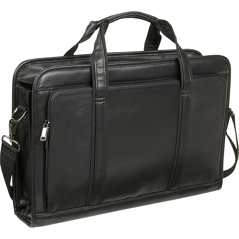 Bellino Soft Brief - Black - Work Bags & Briefcases, Non-Wheeled Business Cases