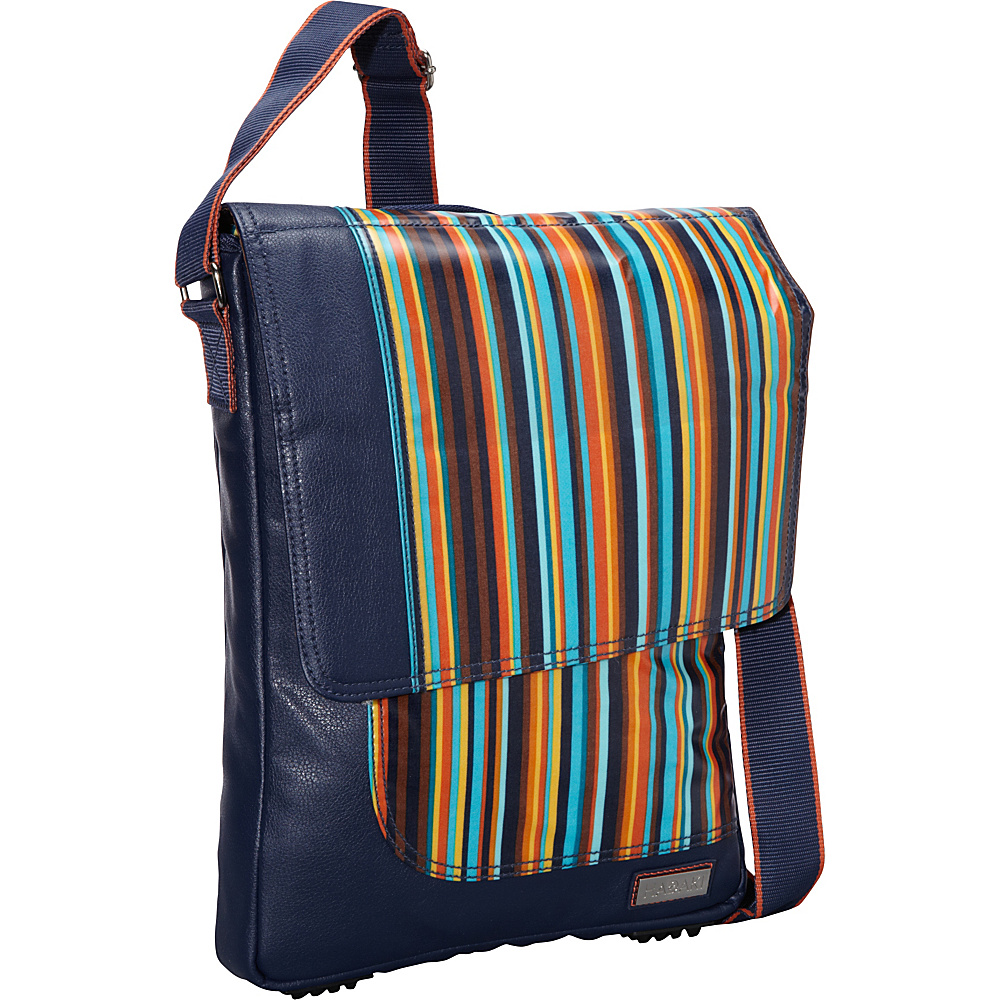Hadaki On the Run 15.4 Laptop Messenger Arabesque Stripes - Hadaki Messenger Bags - Work Bags & Briefcases, Messenger Bags