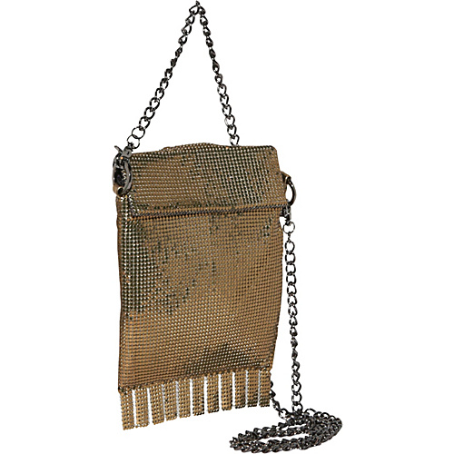 Whiting and Davis Friged Cross-Body Bag