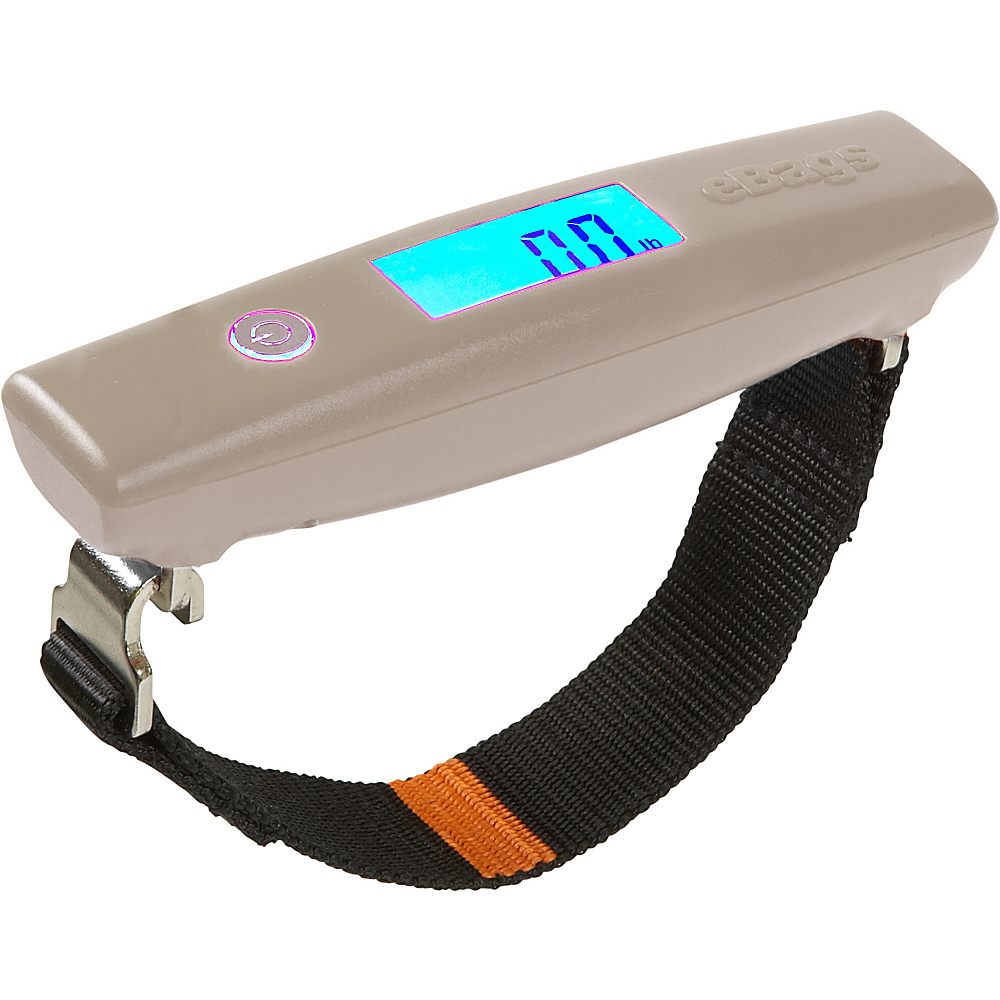 eBags GripScale Digital Luggage Scale - Grey - Travel Accessories, Luggage Accessories