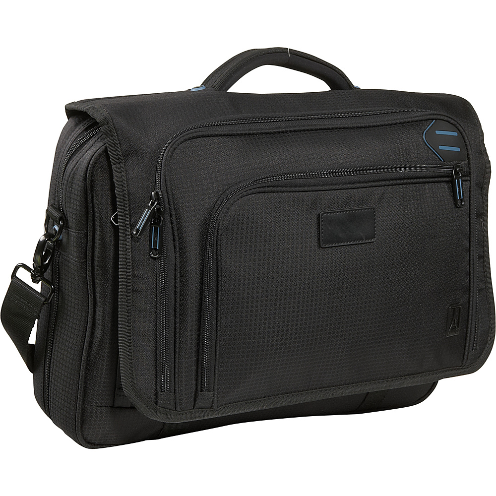 Travelpro Executive Pro Messenger Brief Black - Travelpro Messenger Bags - Work Bags & Briefcases, Messenger Bags