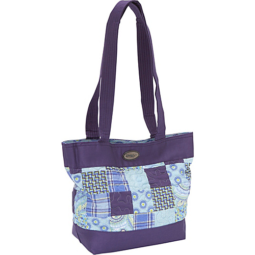 Donna Sharp Medium Patched Tote, Rio Patch - Shoulder Bag