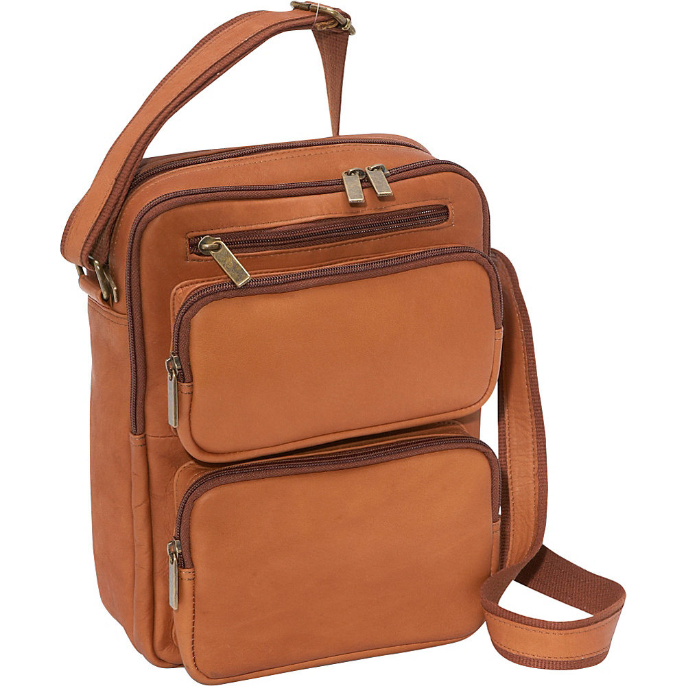 Le Donne Leather Multi Pocket iPad / eReader Day Bag - - Work Bags & Briefcases, Other Men's Bags