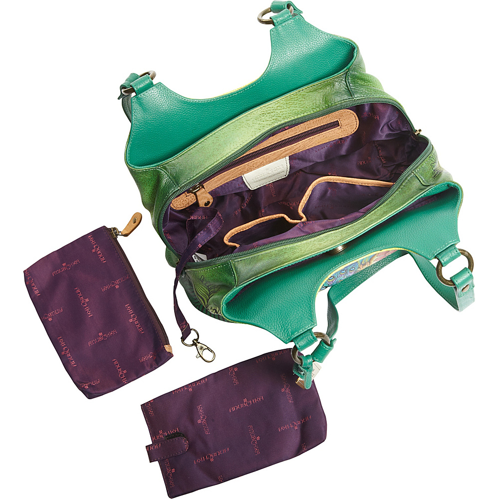 Leather Handbags With Compartments