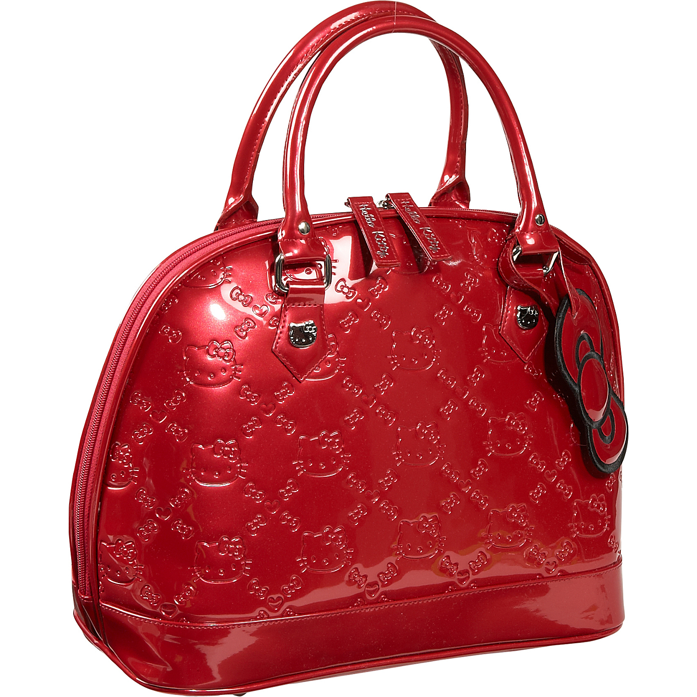 f77132bc218c Loungefly Hello Kitty Tango Red Embossed Bag on PopScreen