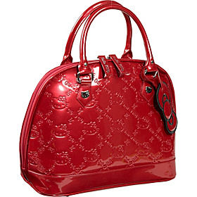 Hello Kitty Tango Red Embossed Bag Red
