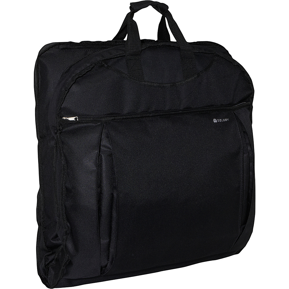 Delsey 52 Dress Cover - Black - Luggage, Garment Bags