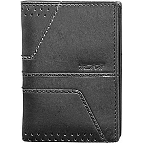 Torque Gusseted Card Case ID Black