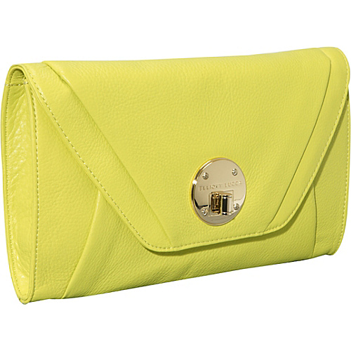 Elliott Lucca Cordoba Clutch Citrine - Elliott Lucca Leather Handbags