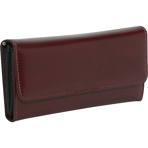 Jack Georges Milano Collection Clutch Wallet - Cherry