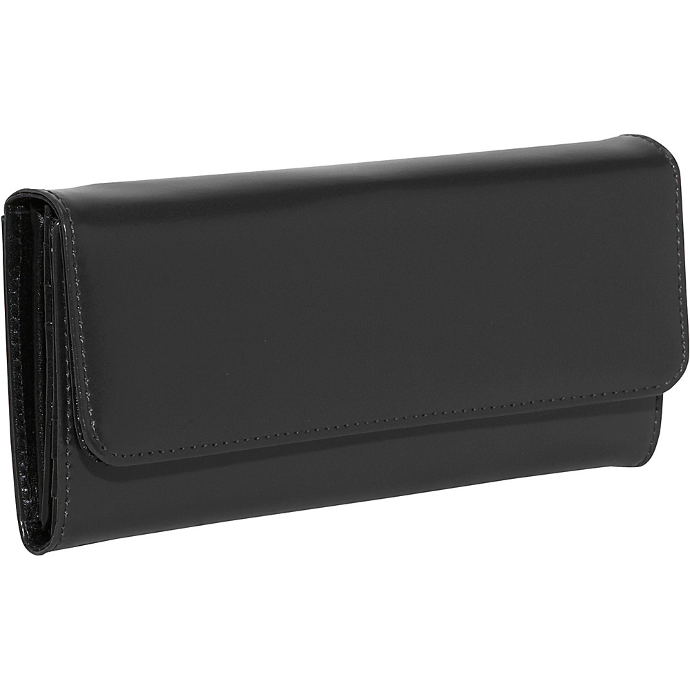 Jack Georges Milano Collection Clutch Wallet - Black