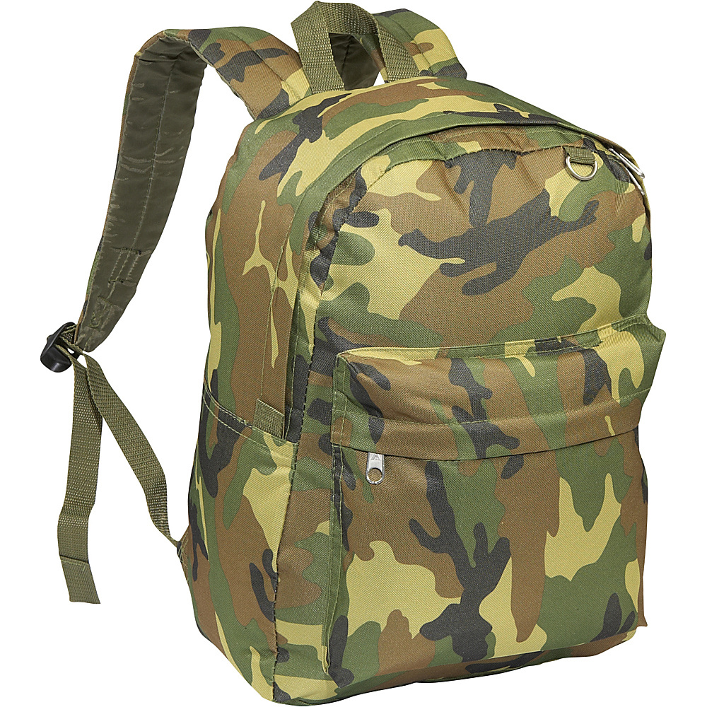 Everest Jungle Camo Classic Backpack - Jungle Camo - Backpacks, Everyday Backpacks