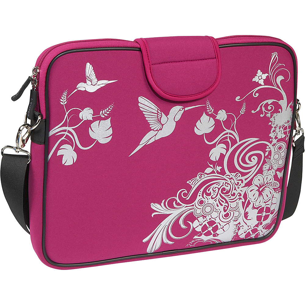 Laurex 13.3 Laptop Sleeve Cherry Hummingbird